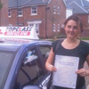 Hi I would like to say thanks to my driving instructor Andy he really is a great teacher and helped me with                                 what I needed to work on and was always easy to understand and talk to. With Andy&rsquo;s help I managed to                                 pass my driving test first time thanks so much Andy and thank you to Topclass driving School would always                                 recommend them to any one wanting to learn to drive.<br/><br/><b>Amber Harrison</b>, Maidstone Kent