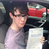 Hi my name is Jack horrocks I passed my driving test at Gillingham test centre on th 25th July I would like                                 to say thank you to Topclass driving School and Amanda my driving Instructor for helping me to pass my test                                 <br /><br />                                 Thanks Amanda<br/><br/><b>Jack Horrocks</b>, Rochester Kent