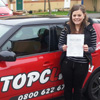 Hi my names Naomi I would like to say thanks to Topclass driving school and my driving instructor Darren I passed my driving test first time at Gillingham test centre today and I couldn&rsquo;t have done it without him, he was always happy and friendly and is a great instructor <span class='smileyFace'></span><br/><br/><b>Naomi</b>, Maidstone Kent