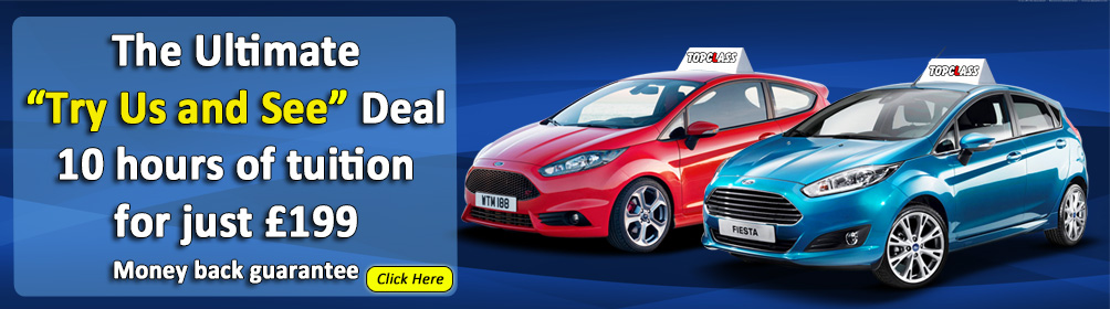 Book your first 10 driving lessons for only £199